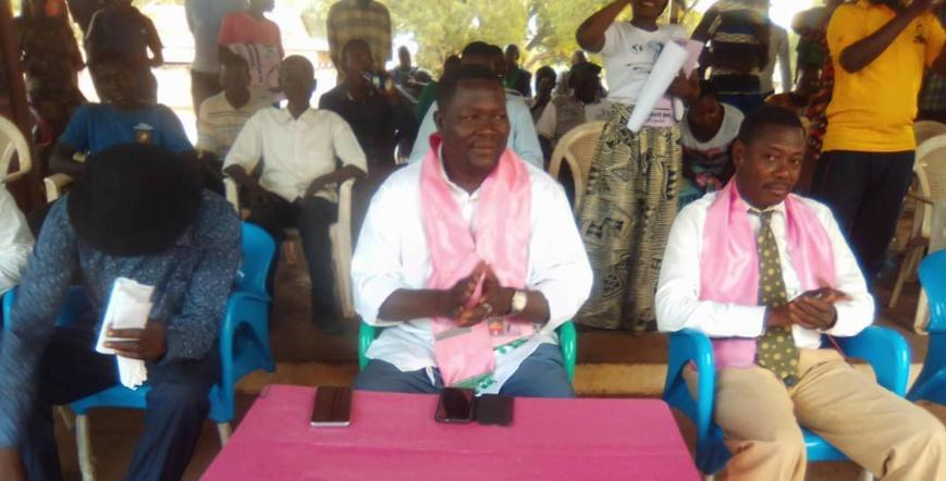 Élections au Tchad : le candidat Brice Mbaïmon en meeting au Mandoul