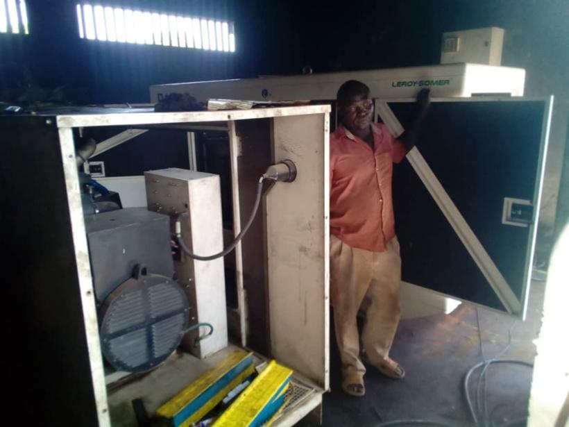 Tchad : un groupe de 150 Kwa réceptionné à la STE de Pala pour renforcer l'accès à l'eau