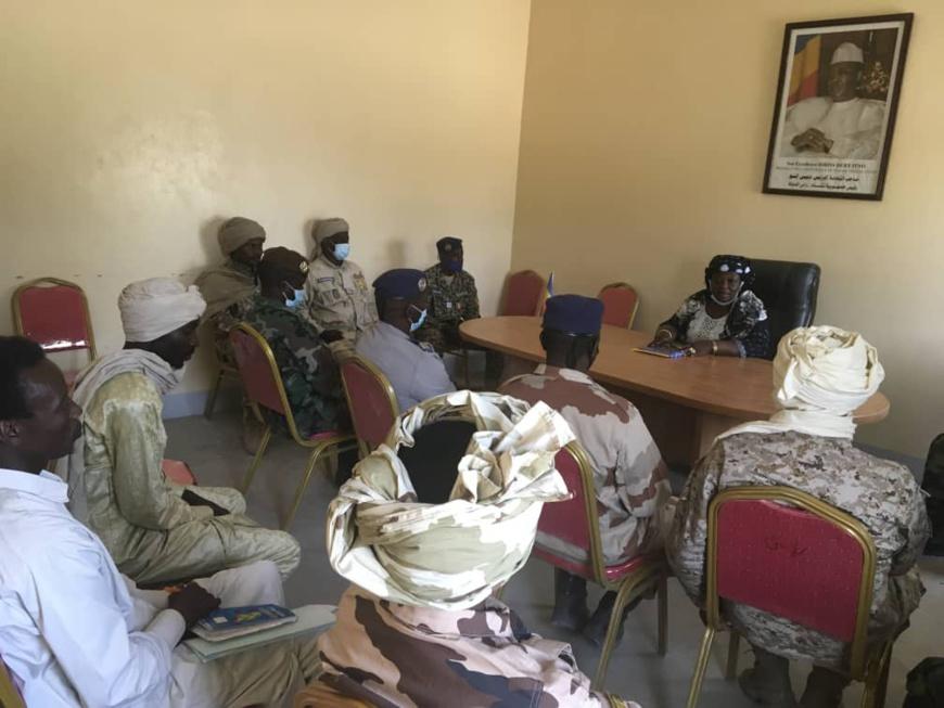 Tchad : les forces de sécurité mobilisées au Hadjer Lamis pour la sécurité du scrutin