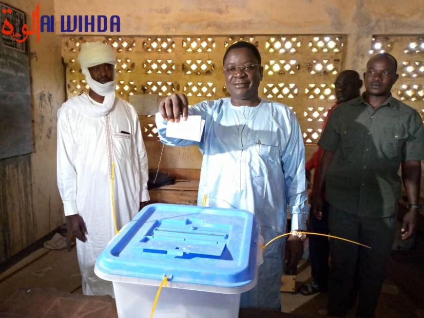 Élections au Tchad : Pahimi Padacké se dit confiant sur l'issue du scrutin