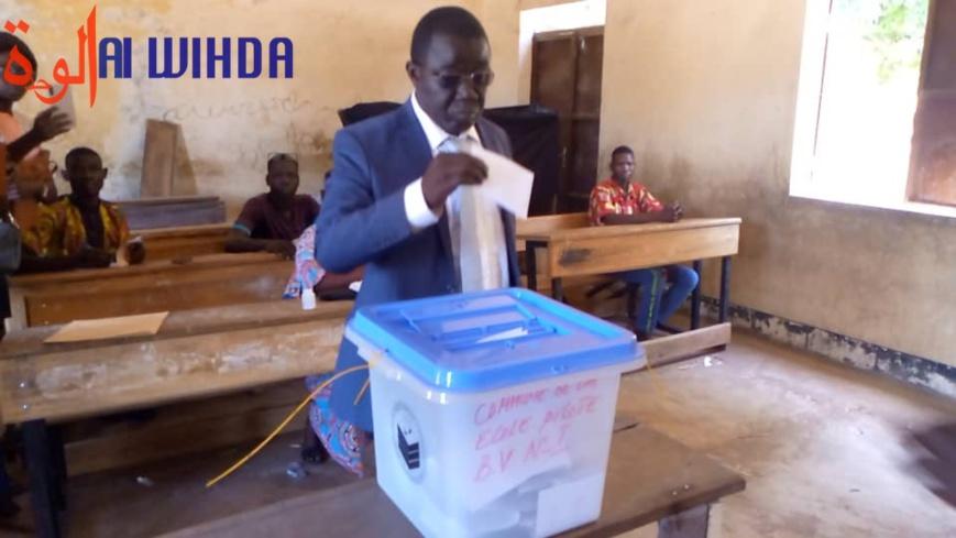 Tchad : le candidat Alladoum Djarma a accompli son devoir civique à Laï