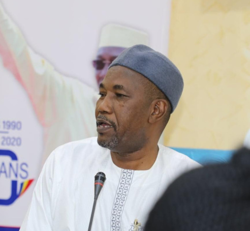 """Zen Bada : """"La démocratie a triomphé. Les tchadiens ont donné une grande leçon démocratique"""""""