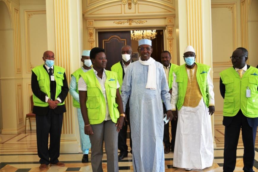 Tchad : des observateurs électoraux reçus à la Présidence