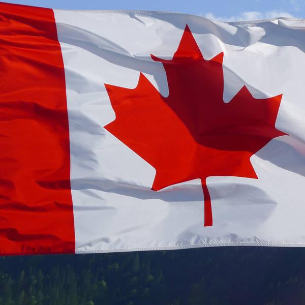 Le drapeau canadien. © DR
