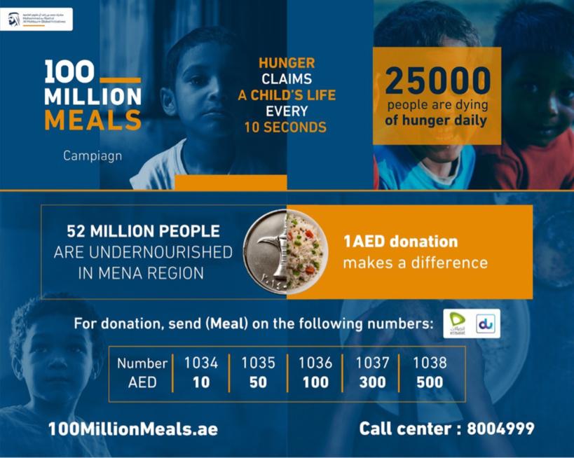 Ramadan : 10 pays africaines bénéficieront de la campagne 100 millions de repas