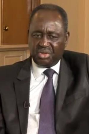 Dernières images de François Bozizé, lors d'une interview par une chaine de télévision, après son éviction du pouvoir. CAPTURE ECRAN. Crédits photos : Sources