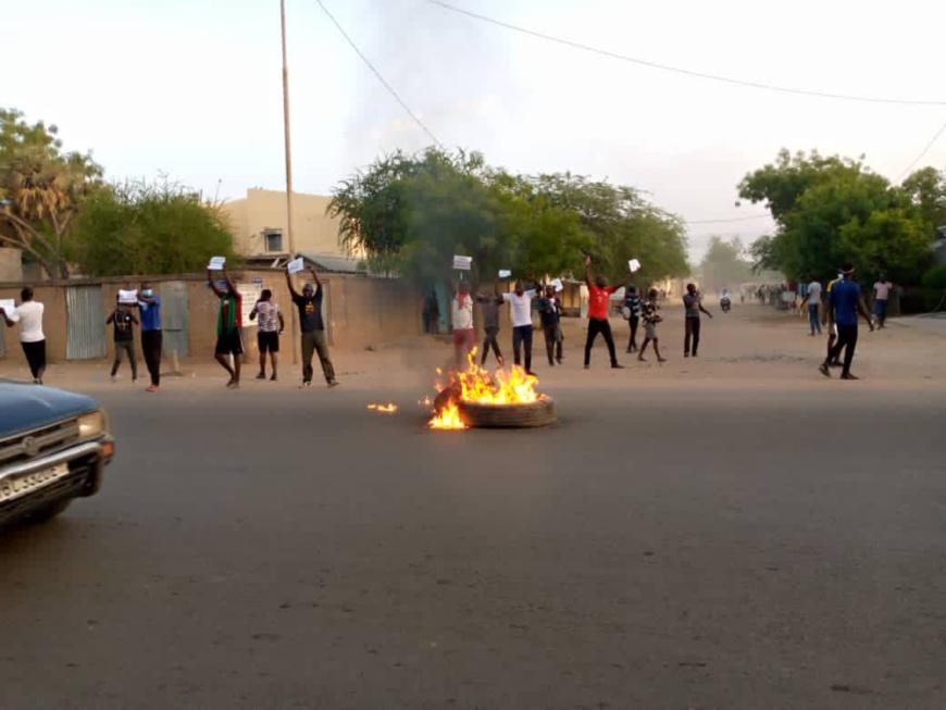 Tchad : des manifestants expriment leur colère à N'Djamena