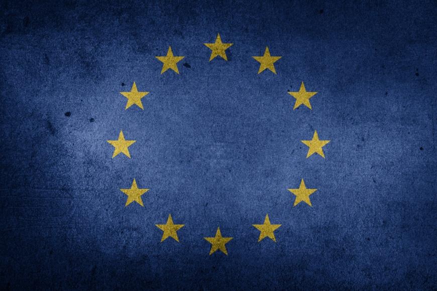 Le drapeau de l'Union européenne. © Chickenonline/Pixabay
