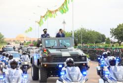 Togo : Un défilé militaire a marqué le 61ème anniversaire de l'indépendance