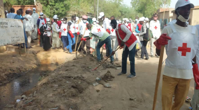 Tchad : la salubrité, un défi à N'Djamena