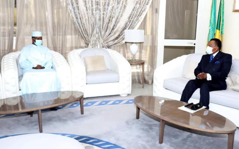 Le président congolais a reçu l'envoyé spécial du Tchad