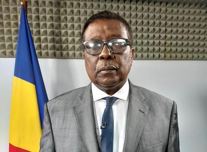 Le ministre de la Communication, porte-parole du gouvernement, Abderaman Koulamallah. © PR