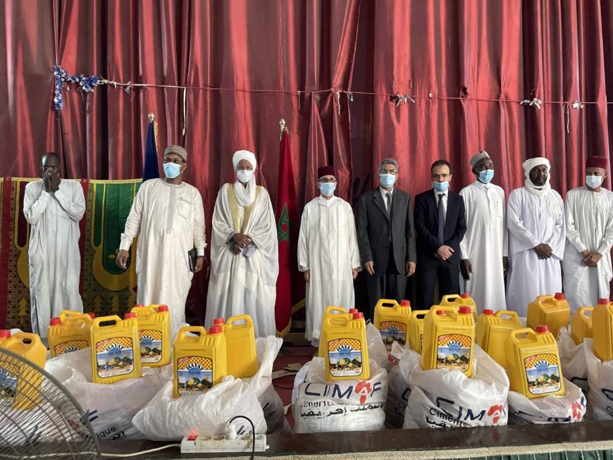 CIMAF TCHAD fait un don de 1000 kits alimentaires au CSAI (Grande Mosquée)