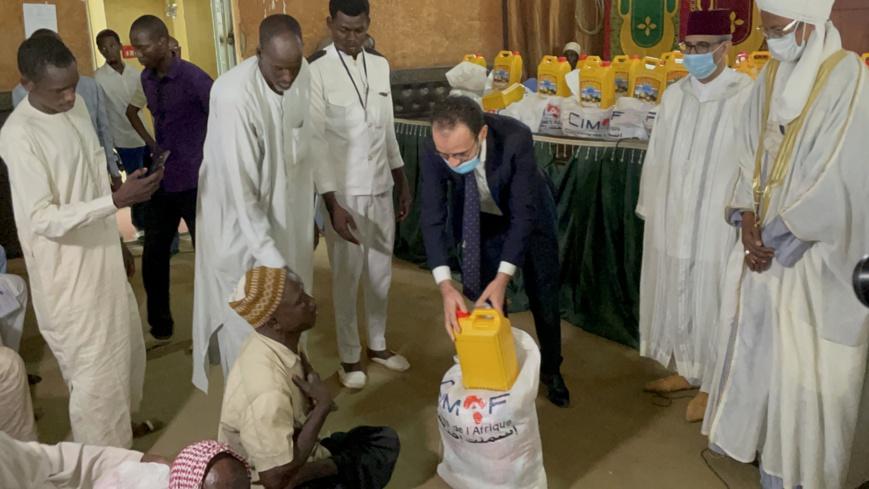 CIMAF TCHAD distribue un don de 1000 kits alimentaires aux familles vulnérables et démunies