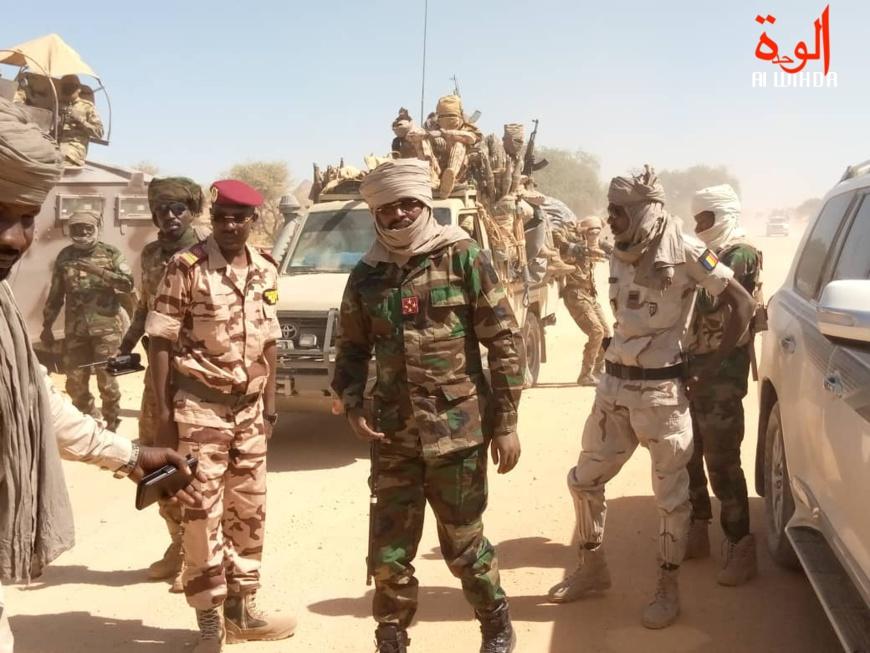 Tchad : le CEMGA est de retour des zones d'opérations du Nord Kanem