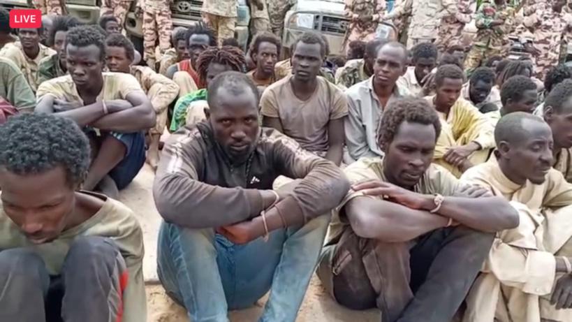 Tchad : des centaines de prisonniers de guerre présentés par l'armée