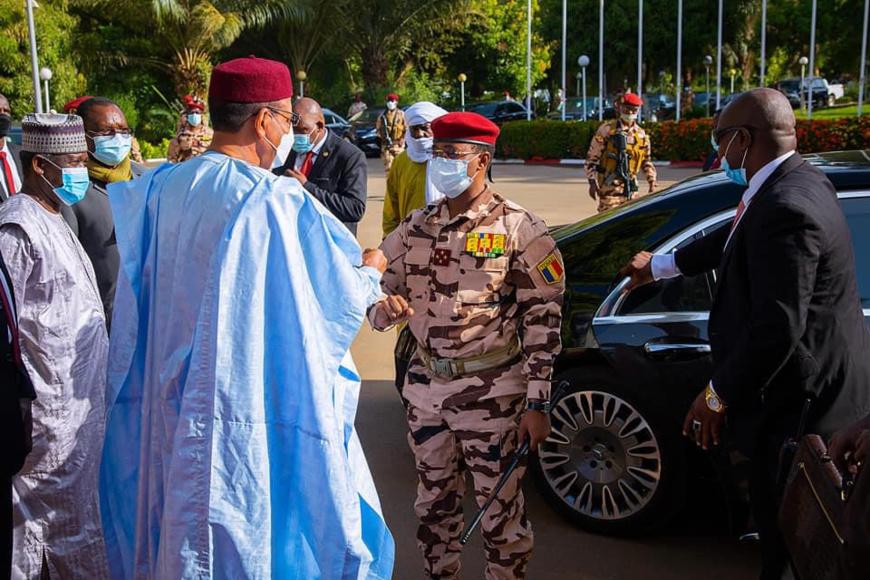 G5 Sahel : le général Mahamat Idriss Deby se rend dans la zone des trois frontières. © DR