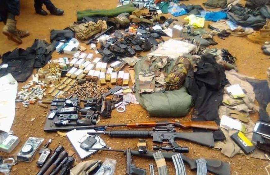 Centrafrique : un ressortissant français arrêté avec une grande quantité d'armes