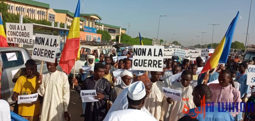Tchad : une marche pacifique encadrée par la police à N'Djamena