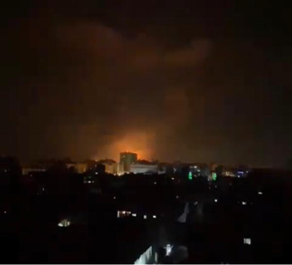 Bombardements dans la bande de Gaza. Capture d'écran. ©DR