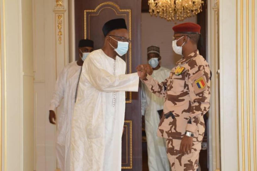Tchad : Mahamat Idriss Deby et Saleh Kebzabo se sont entretenus au Palais