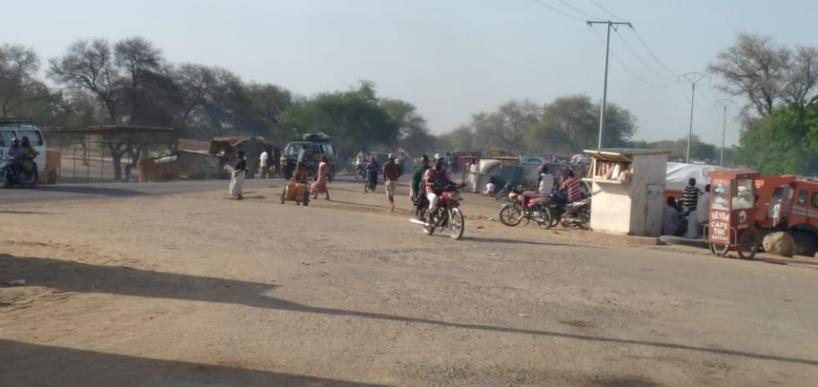 La ville de N'Djamena ce mercredi 19 mars 2021. © A.M./Alwihda Info
