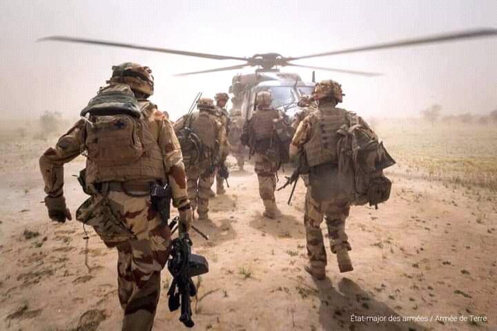 Des forces françaises en opération. © État-major