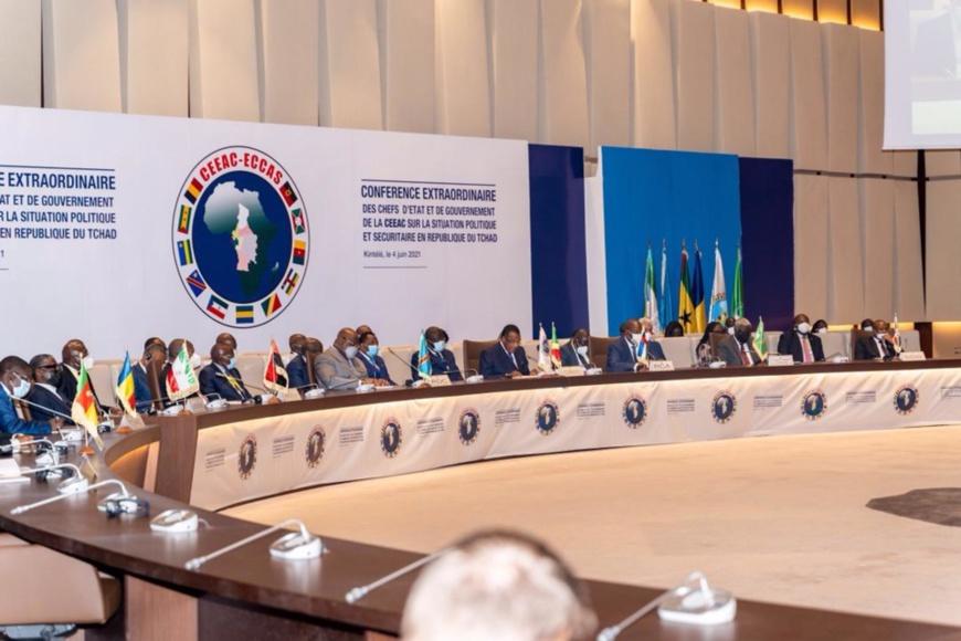 Une vue des participants au sommet de Brazzaville