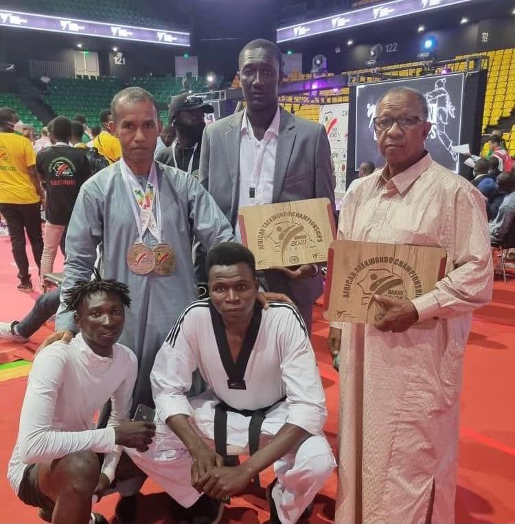 Championnat d'Afrique senior de Taekwondo : deux médailles de bronze pour le Tchad