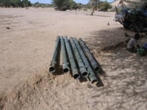 Des antichars RPG-29, provenant de la Libye. Crédits photos : Abdelnasser Gorboa.