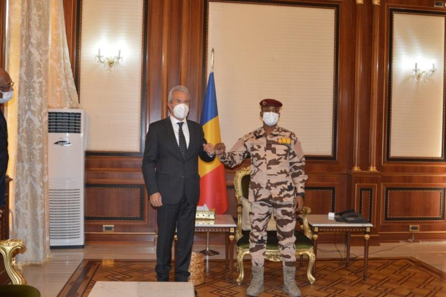Tchad : l'ambassadeur d'Allemagne reçu à la Présidence