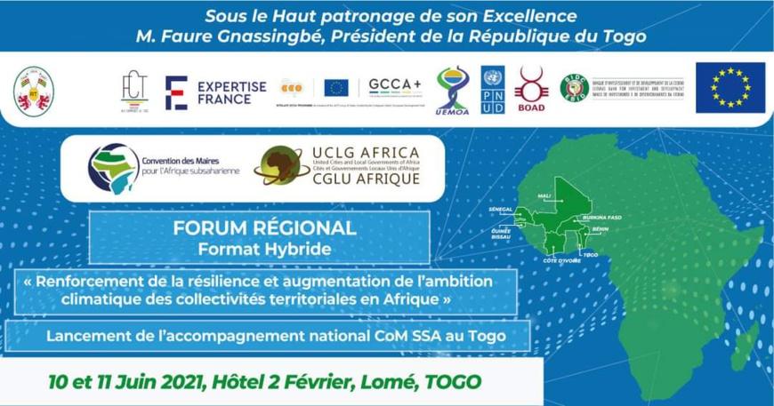 Togo : Lomé accueille un forum sur la résilience et l'ambition climatique en Afrique