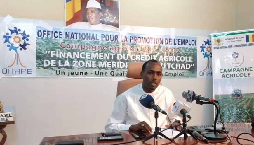 Tchad : le directeur général de l'ONAPE s'est exprimé sur le financement du crédit agricole