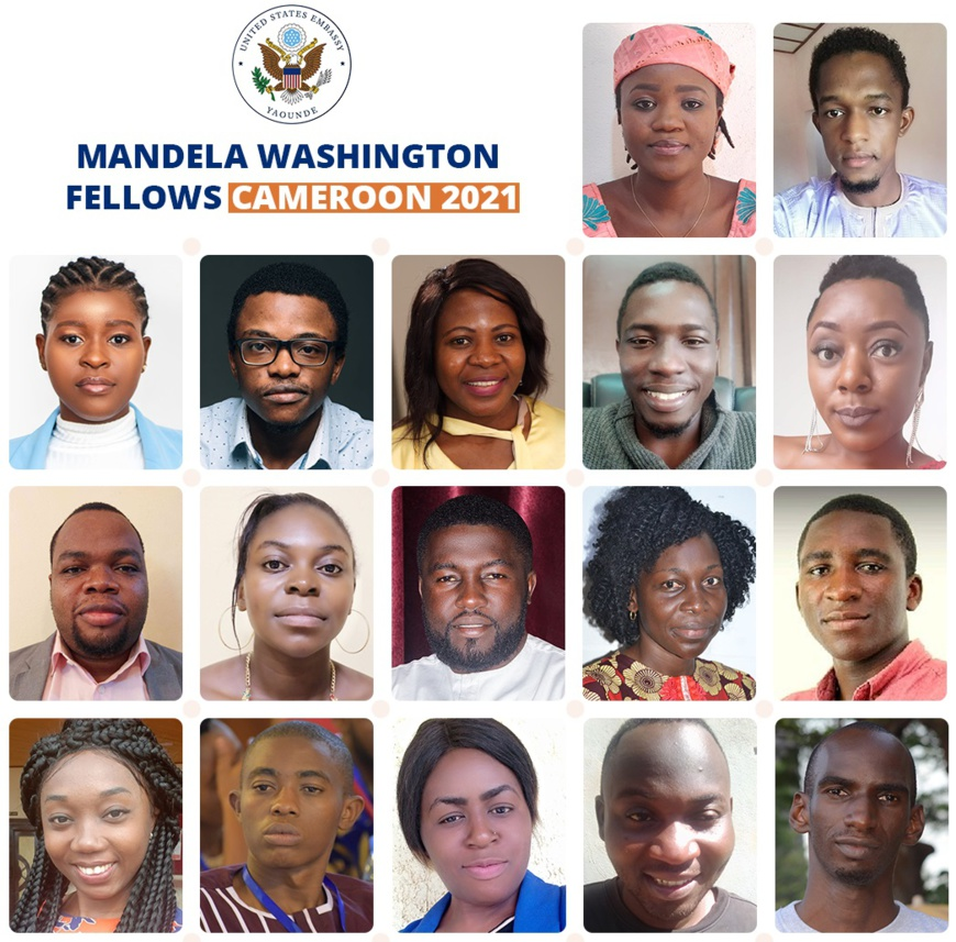Cameroun : des jeunes leaders sélectionnés pour la bourse Mandela Washington 2021
