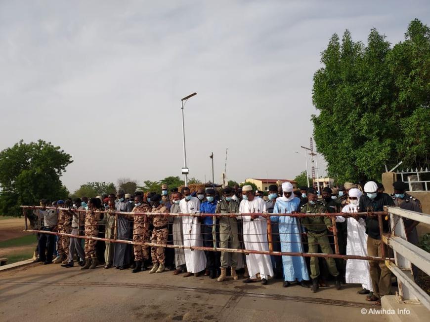 Pont Ngueli-Kousseri : le Tchad réouvre sa frontière avec le Cameroun. © Djimet Wiche/Alwihda Info