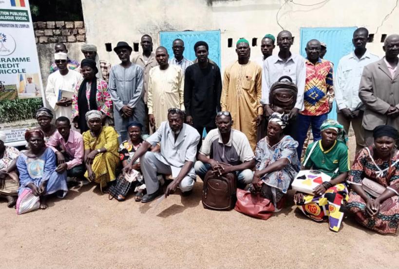 Tchad : l'ONAPE de Sarh lance le credit agricole à Balimba