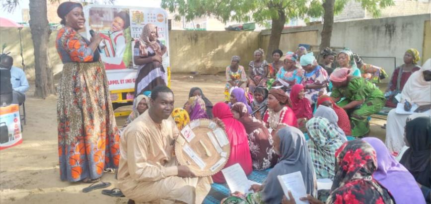 Tchad : l'ONG TECHNIDEV sensibilise les femmes sur la santé de la reproduction