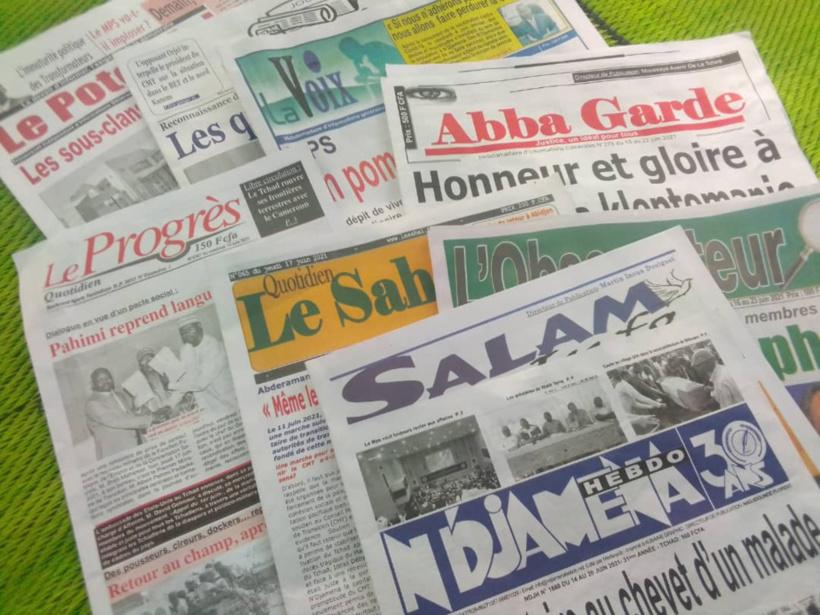 Tchad : la revue de presse de la semaine du 15 au 20 juin