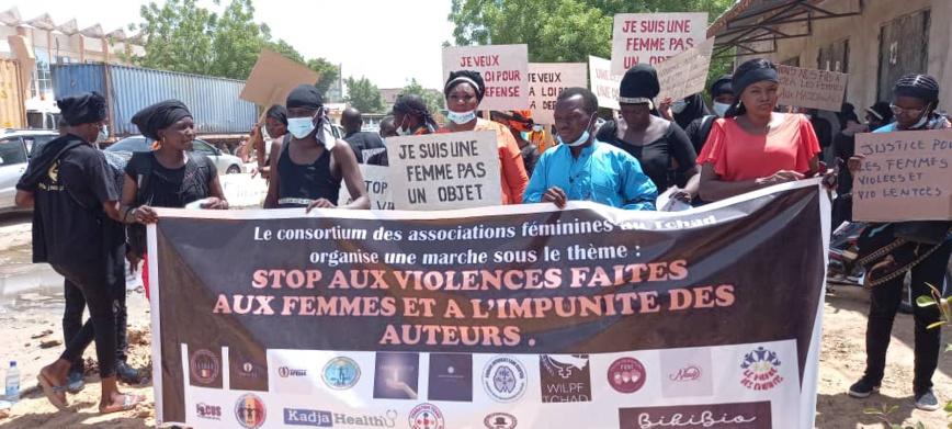 Tchad : mobilisation contre les violences faites aux femmes à N'Djamena