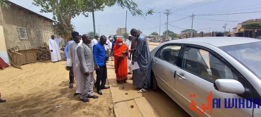 N'Djamena : la mairie accélère les opérations de curage des caniveaux