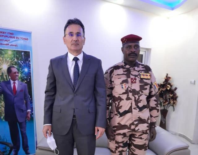 Tchad : l'ambassadeur de Turquie s'est entretenu avec le CEMGA