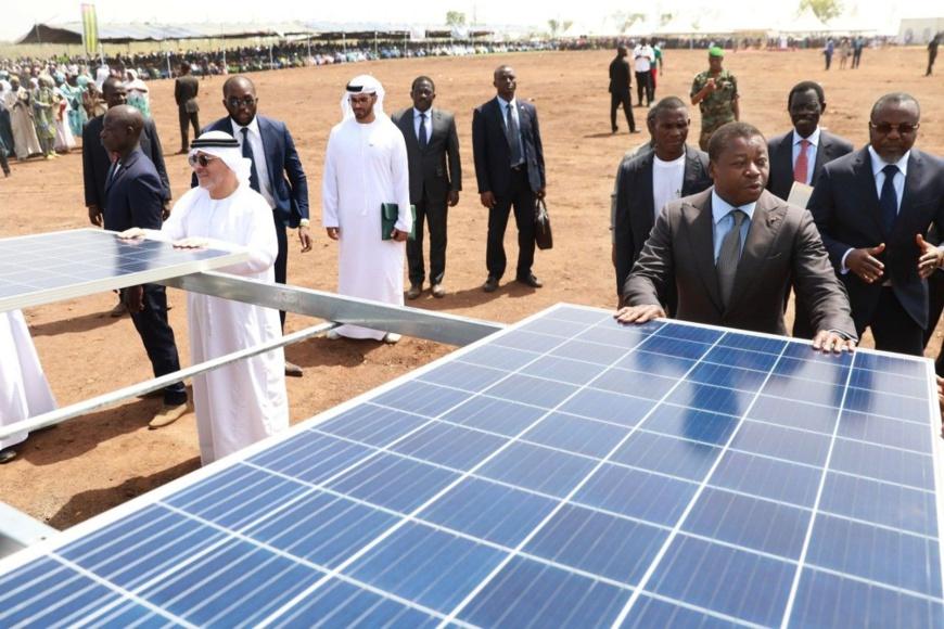 Togo : lancement d'une centrale solaire de 50 MW