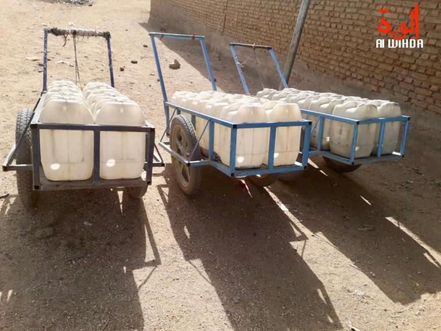 Tchad : accès à l'eau à Abéché ; les ménages et les animaux en pâtissent