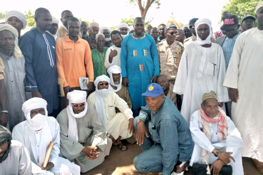 Tchad :  le sous-préfet de Bohobé sensibilise sur la cohabitation pacifique