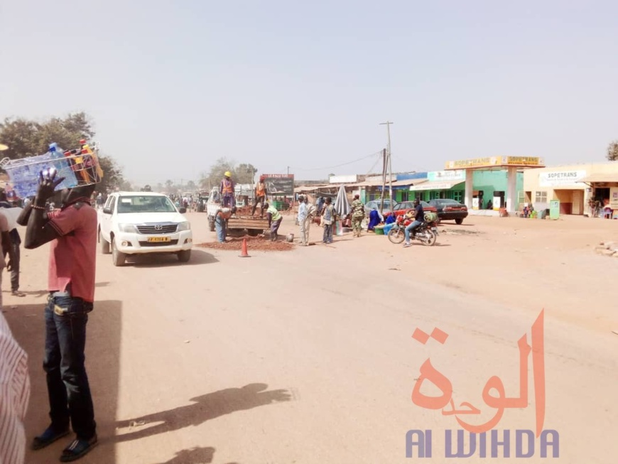 La ville de Moundou. ©️ Golmem Ali/Alwihda Info