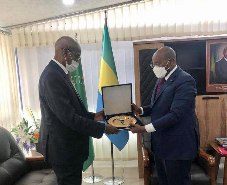le nouvel ambassadeur du Tchad présente ses lettres de créance