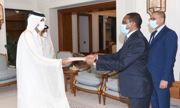 Tchad : l'Emir du Qatar reçoit un message du président du Conseil de transition