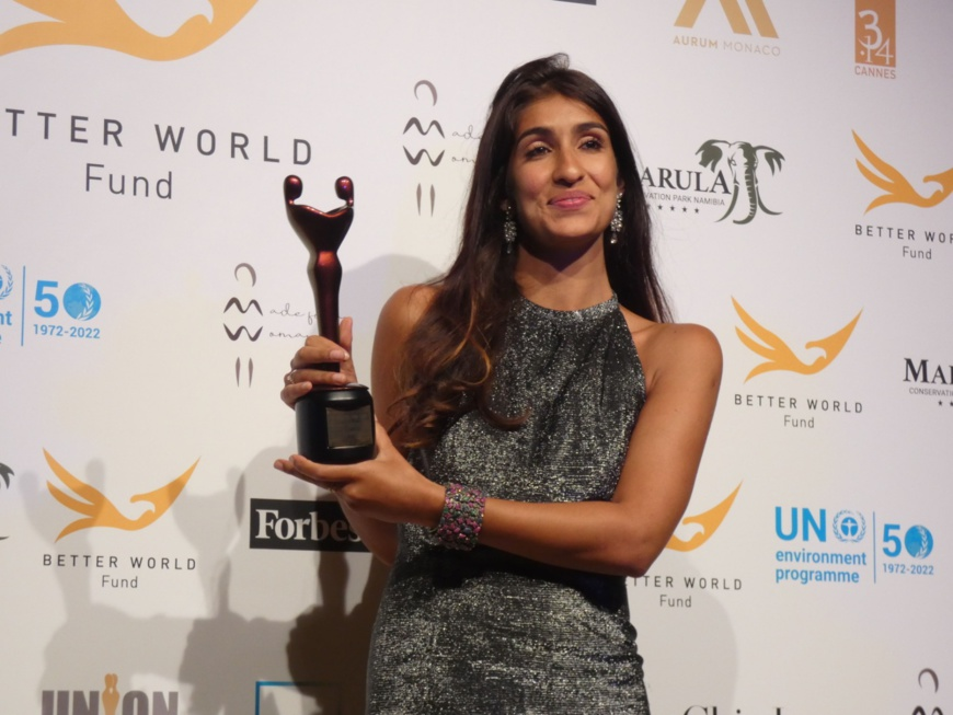 Festival de Cannes : la créatrice malgache Eileen Akbaraly distinguée