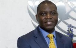 © africanaute.com  Charles Armel Doubane, ancien ambassadeur, Représentant Permanent de la RCA auprès des Nations Unies devant le Conseil de Sécurité