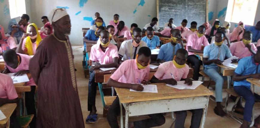 Tchad : 2464 candidats composent le BEF au Guera